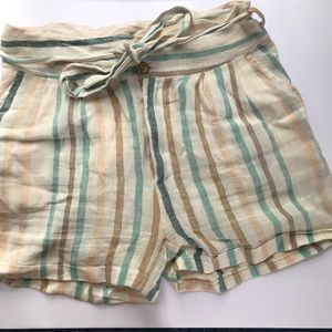 Pants - Etoile Linen Shorts
